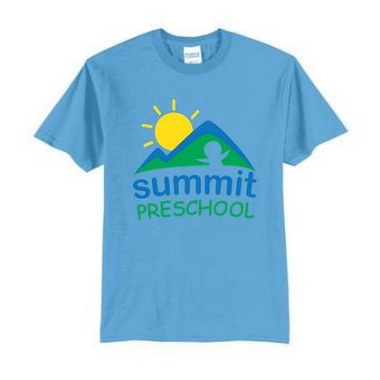 Summit Preschool Full Front Adult Shirt