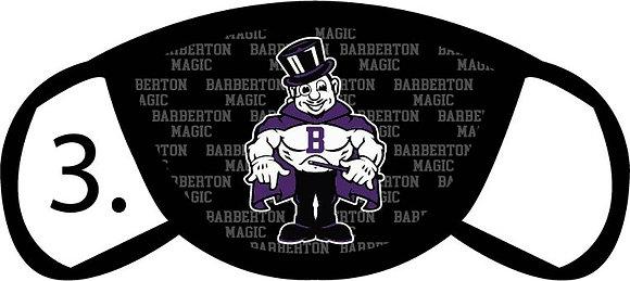 Barberton Magic Man Face Mask