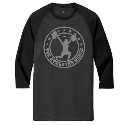 The Athlete's House Unisex Baseball Tee