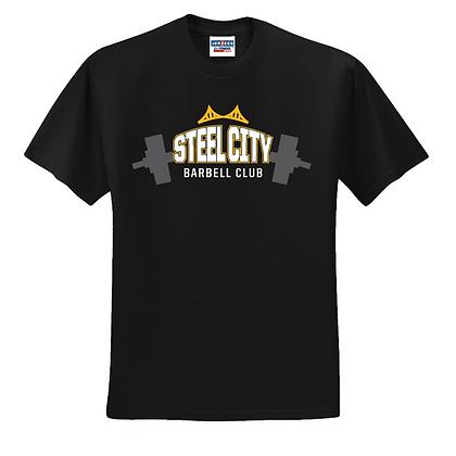 Steel City Design #4 Unisex Cotton blend T-shirt