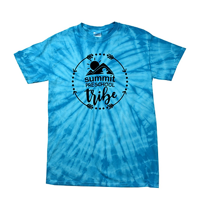Summit Preschool Tribe Adult Tie-Dye Shirt