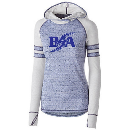 Blue Storm Athletics Logo (Blue) Advocate Hoodies