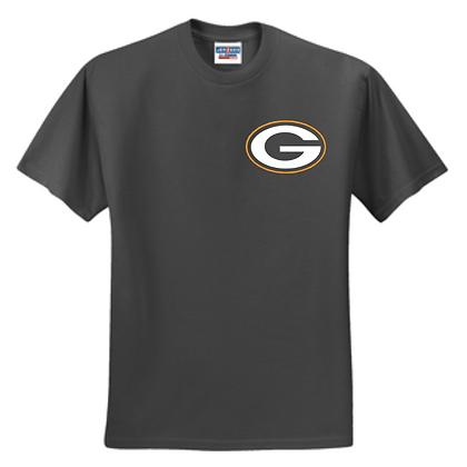 Green Bulldogs Wrestling Logo #10 Unisex T-Shirt