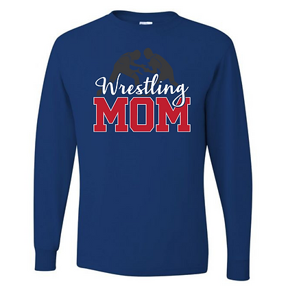 Wrestling Logo #25 Unisex Long Sleeve T-Shirt Glitter Option