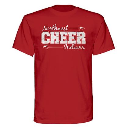 Northwest Indians Cheer Logo #40 Unisex T-Shirt
