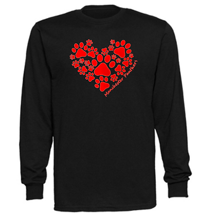 Manchester Panthers General Logo #2 Unisex Long Sleeve T-Shirt