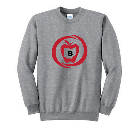 SST8 Icon Full Front Adult Crewneck Sweatshirt