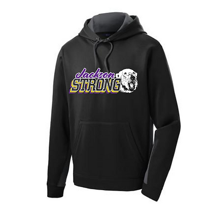 Jackson Strong Sport-tek Fleece Hooded Pullover