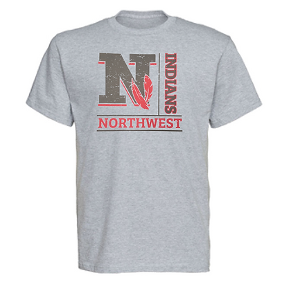 Northwest Indians General Logo #4 Unisex T-Shirt