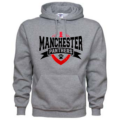 Manchester Panthers Football Logo #62 Unisex Hoodie