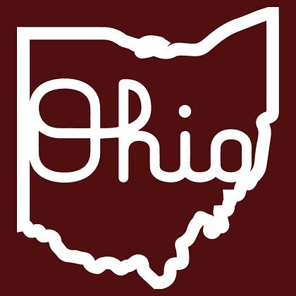 Ohio White Script