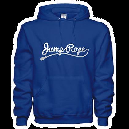Jump Rope Cursive Unisex Hoodie