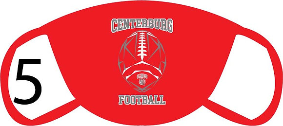 Centerburg Football Face Mask