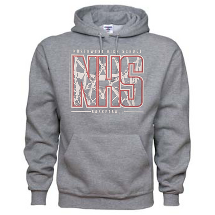 Northwest Indians Basketball Logo #33 Unisex Hoodie