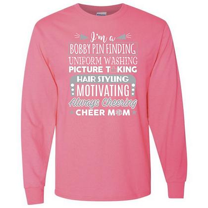 Cheer Mom Unisex Long Sleeve T-Shirt