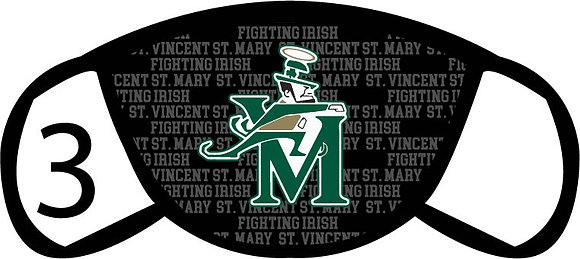 St. V&M Fighting Irish Face Mask
