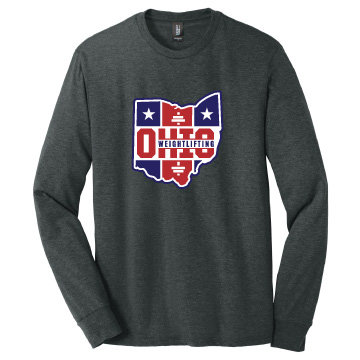 Ohio Weightlifting Unisex Long Sleeve Triblend