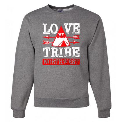 Northwest Indians General Logo #3 Unisex Crew Neck Sweatshirt