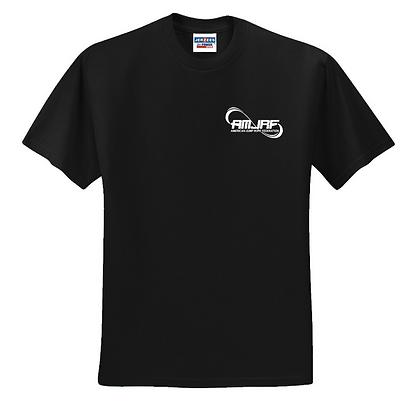 AMJRF White Left Chest Unisex T-Shirt