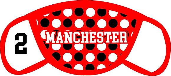 Manchester Polka Dots Face Mask