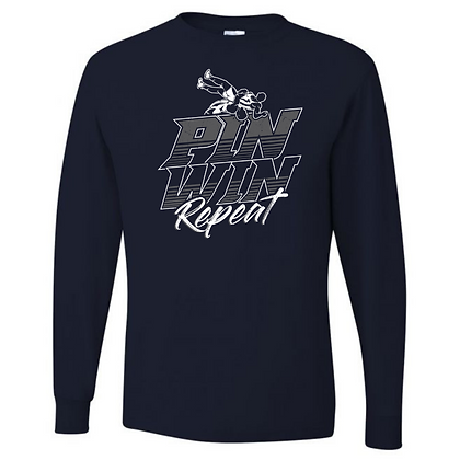 Wrestling Logo #39 Unisex Long Sleeve T-Shirt