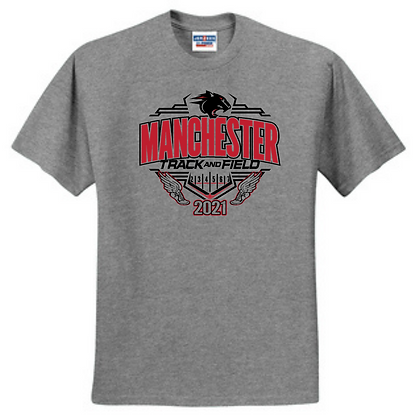 Manchester Middle School Track Unisex Short Sleeve