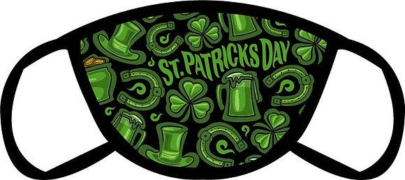 St. Patrick's Day Face Mask