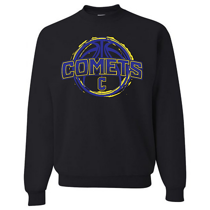 Coventry Comets Basketball Logo #32 Unisex Crew Neck Sweater