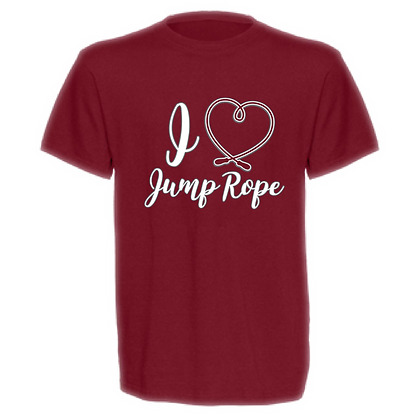 Gameday I <3 Jump Rope Unisex T-shirt