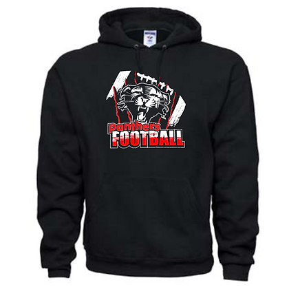 Manchester Panthers Football Logo #61 Unisex Hoodie