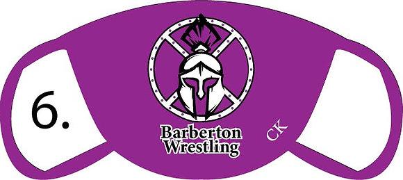 Barberton Wrestling Face Mask