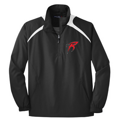 Akron Racers Embroidered Wind Jacket Design 2