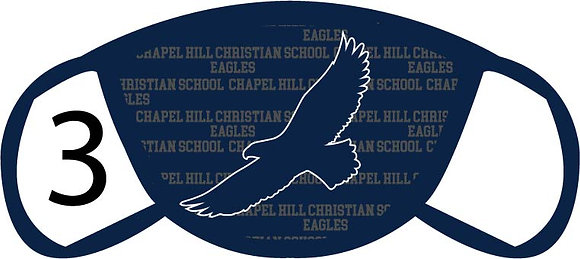 Chapel Hill Christian Eagles Face Mask