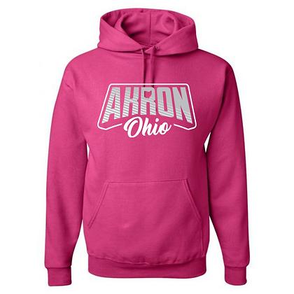 Akron Heart Ohio Unisex Hoodies