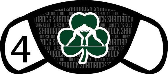 Shamrock Wrestling Face Mask