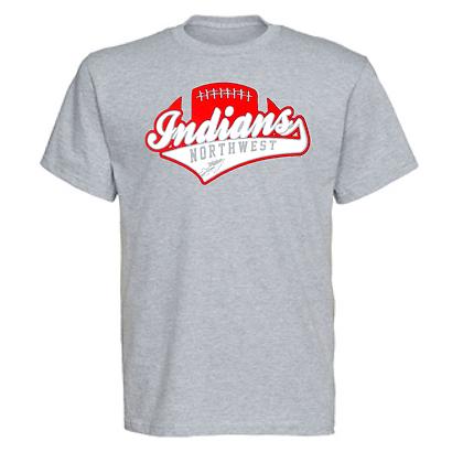 Northwest Indians Football Logo #51 Unisex T-Shirt