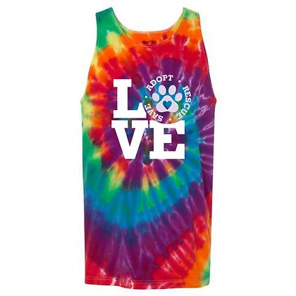 LCHS Love Tie-Dye Tank