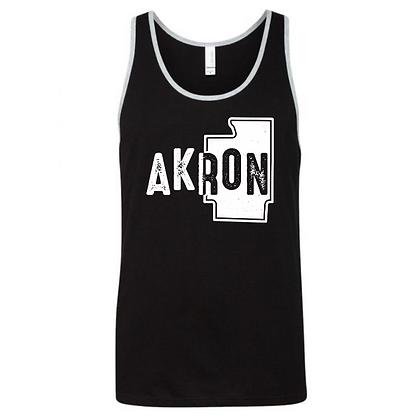 Akron Summit County Men's Tank Top