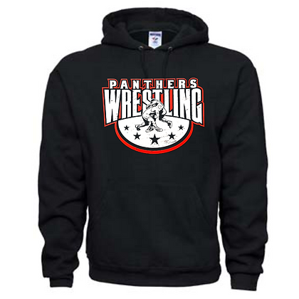 Manchester Panthers Wrestling Logo #88 Unisex Hoodie