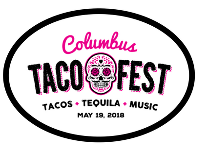 Columbus Taco Fest Commemorative Sticker