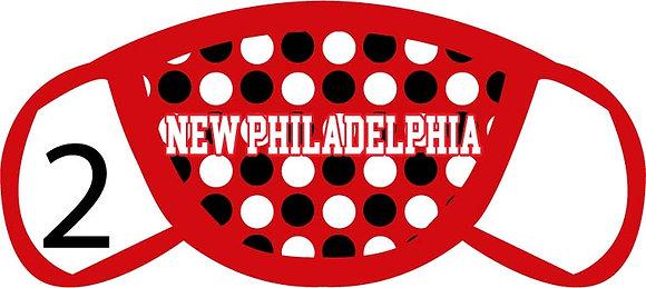 New Philadelphia Polka Dots Face Mask