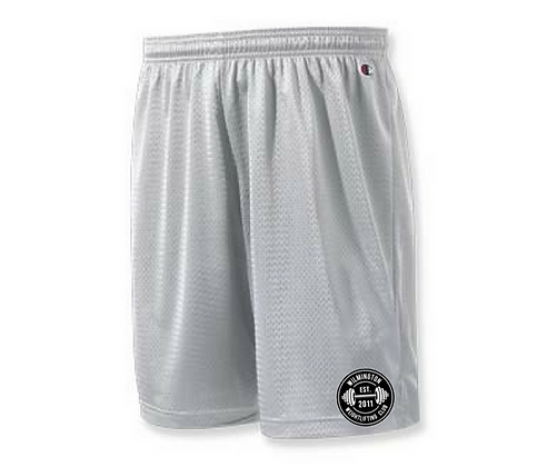 Wilmington Emblem Unisex Mesh Athletic Shorts