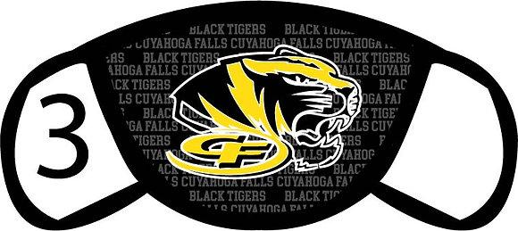 Cuyahoga Falls Tigers Facemask