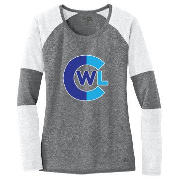 CWL Ladies Baseball Long Sleeve