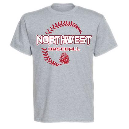Northwest Indians Baseball Seam Design Unisex T-Shirt