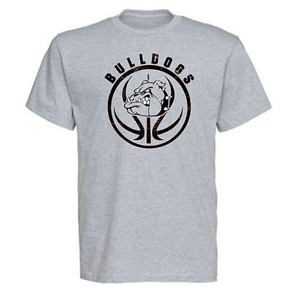 Green Bulldogs Basketball Logo #27 Unisex T-Shirt