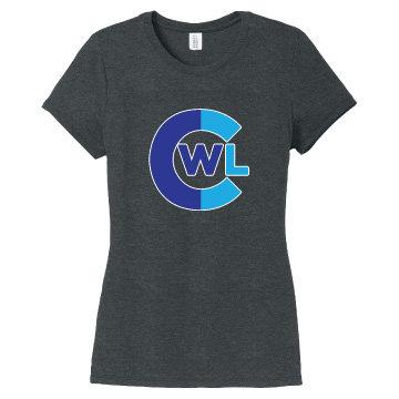CWL Ladies Short Sleeve Triblend