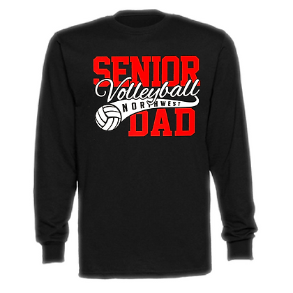Northwest Indians Volleyball (Dad) #75 Unisex Long Sleeve T-Shirt