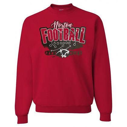 Norton Panthers Football Logo #44 Unisex Sweatshirt