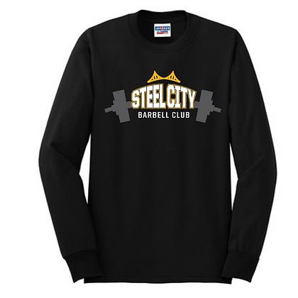 Steel City Design #4 Unisex Cotton blend Long Sleeve